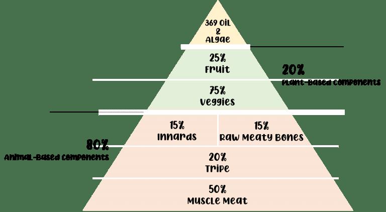BARF Pyramid 80-20