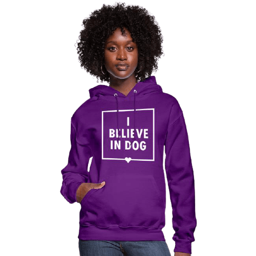 I_Believe_in_Dog_Hoodie_Womens-removebg-preview
