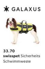 Galaxus Swisspet Schwimmweste Angebot